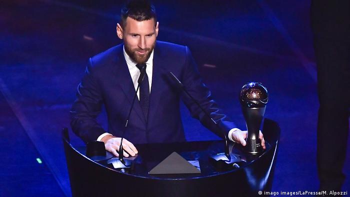 Messi, mejor jugador de la FIFA en 2019.