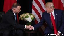 USA | Präsident Trump trifft polnischen Präsidenten Duda