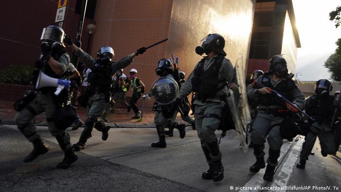 China | Hongkong | Proteste und Gewalt