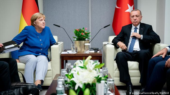 USA UN-Klimagipfel Treffen Merkel und Erdogan