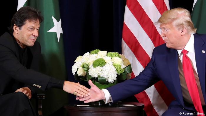 USA UN-Vollversammlung in New York Treffen Trump - Khan