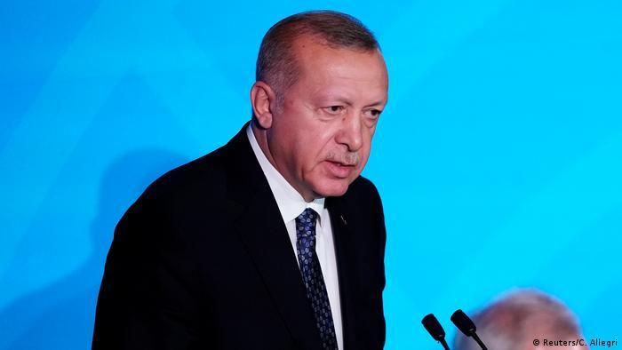 USA UN-Klimagipfel Erdogan (Reuters/C. Allegri)