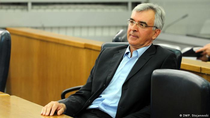 Nord-Mazedonien Zoran Verusevski Ex-Spionageabwehrchef (DW/P. Stojanovski)