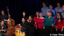 Chor Brasil Ensemble Berlin der Musikschule City-West in Berlin