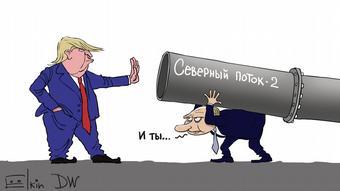 Trump ist gegen Nord Stream 2