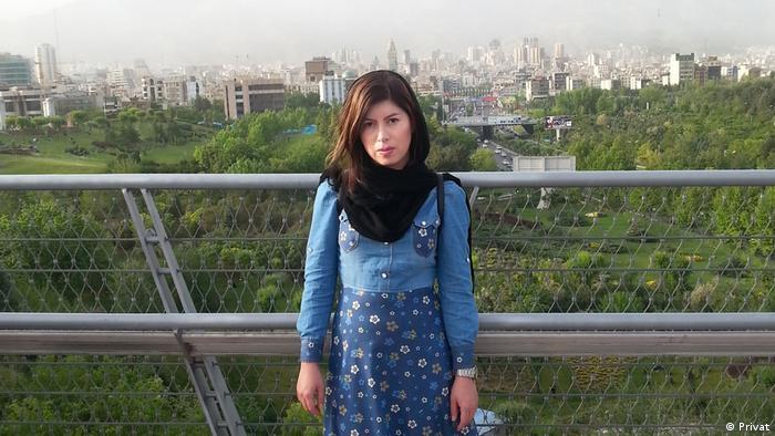 Farzane Zamen in Iran