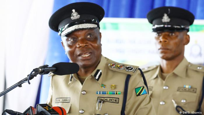 Simon Sirro Polizei Dar es Salaam Tansania