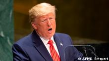 UN-Generalversammlung in New York | US Präsident Donald Trump