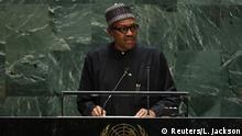 UN-Generalversammlung in New York | Muhammadu Buhari, Präsident Nigeria