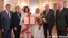 Bild:- Hessischer Friedenspreis wird an Abiy Ahmed Ali verliehen Titel :- Hessischer Friedenspreis wird an Abiy Ahmed Ali verliehen Autor/Copyright: Hirut Melesse DW Schlagworte: Äthiopien Deutschland