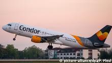 Ferienflieger Condor - Startender Airbus A320