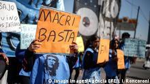 Argentinien | Demonstration gegen Präsident Mauricio Macri in Buenos Aires
