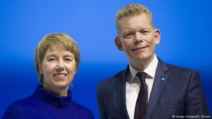 Deustchland | Martina Merz und Guido Kerkhoff | Thyssenkrupp - Hauptversammlung