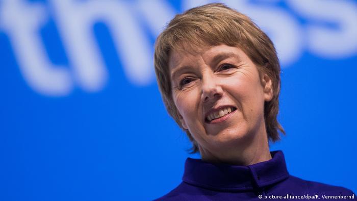 Martina Merz, directora general de Thyssenkrupp.