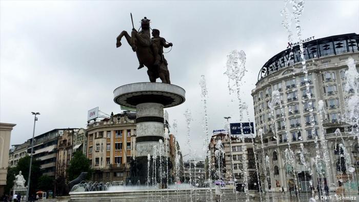 Reportage zum Konflikt um die geographische Kennzeichnung Mazedonien (DW/F. Schmitz)