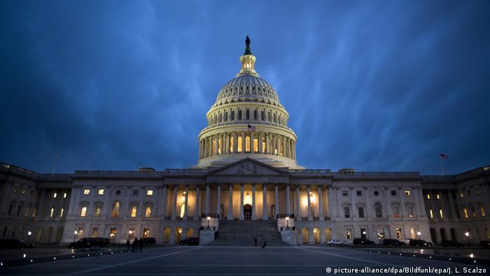 Capitólio, onde se localizam Senado e Câmara dos EUA