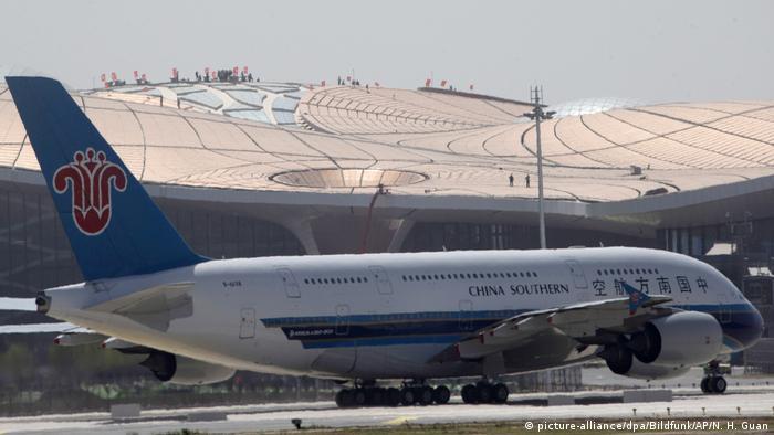 Flughafen Peking-Daxing (picture-alliance/dpa/Bildfunk/AP/N. H. Guan)