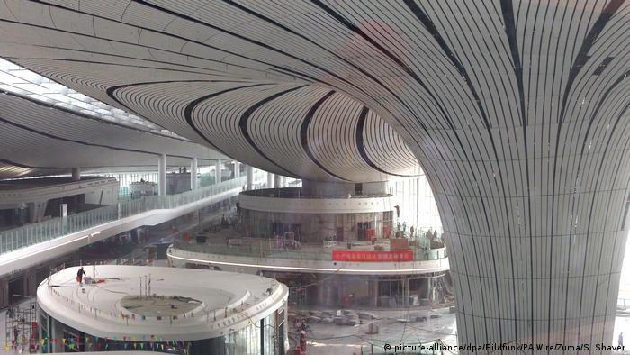 Aeropuerto de Daxing, en Pekín.