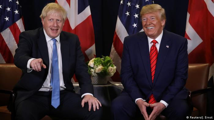 Johnson i Trump