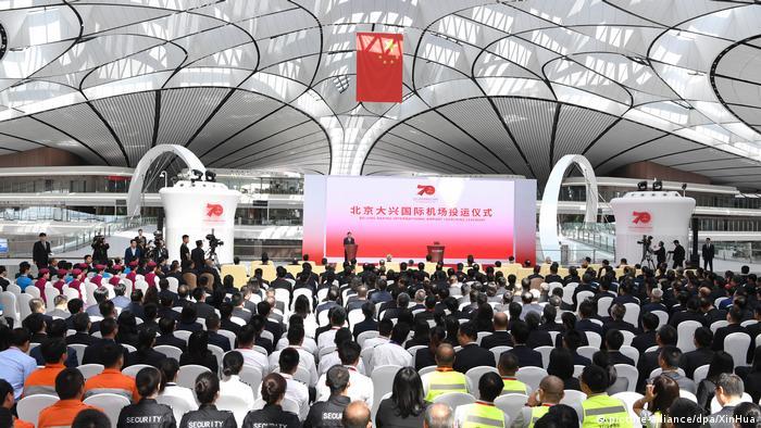 Daxing International Airport en Pekín
