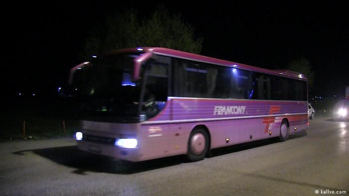 Autobus sa povratnicima