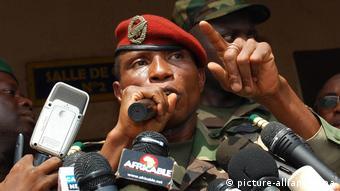 Capt Moussa Dadis Camara Afrika Guinea