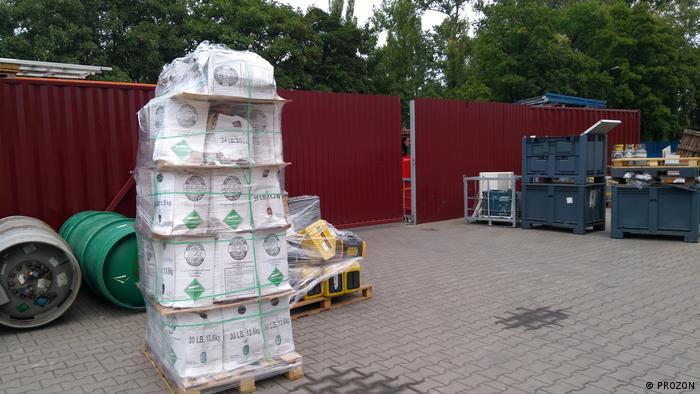 Polen Illegale Nutzung Fluorkohlenwasserstoffe (PROZON)