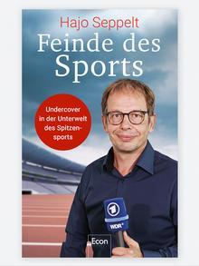 Обложка новой книги Зеппельта о допинге Враги спорта