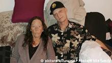 Im Iran gefangener US Navy Veteran Michael R. White mit seiner Mutter Joanne White