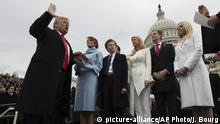 USA Donald Trump Vereidigung Capitol Hill, Washington