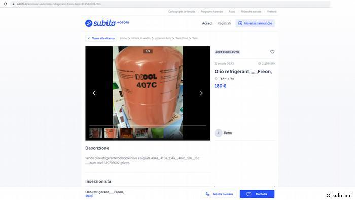 Screenshot subito - HFC for sale