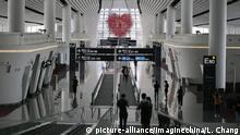 China Peking Neuer Flughafen Daxing