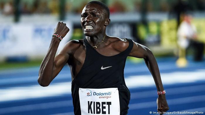 Leichtathletik - Michael Kibet