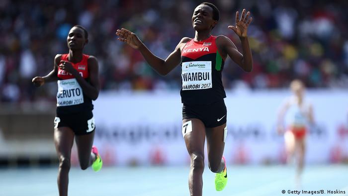 Leichtathletik Jackline Wambui