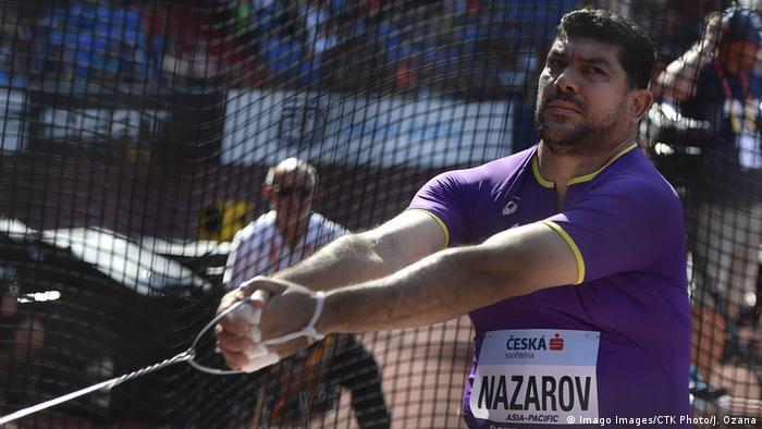 Leichtathletik - Hammerwerfer Dilschod Nazarow