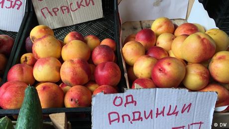 Nord-Mazedonien Skopje | Chemikalien in Obst und Gemüse (DW)