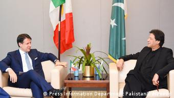 USA Pakistan Premierminister Imran Khan UN | Guiseppe Conte