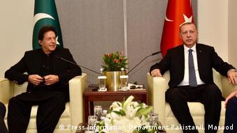 USA Pakistan Premierminister Imran Khan UN | Präsident Erdogan
