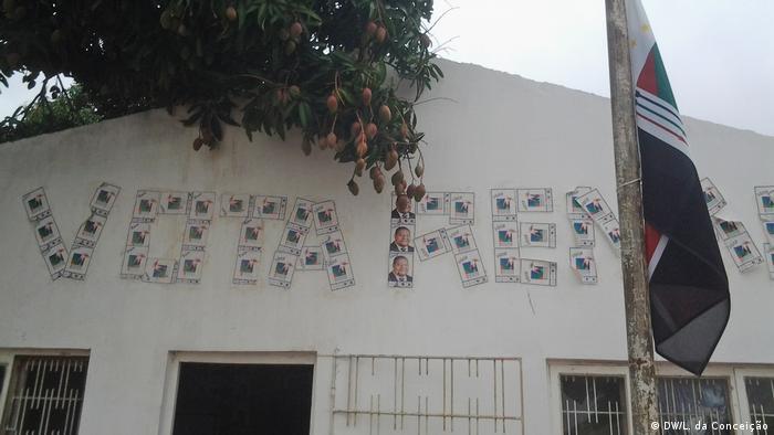 Mosambik Wahlkampagne 2019 (DW/L. da Conceição)
