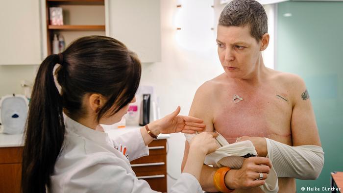 Brustkrebs - Brustamputation (Heike Günther)