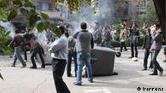 Protest in Teheran Iran