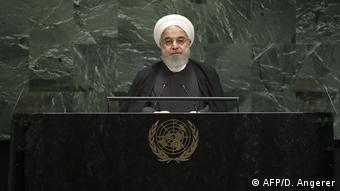 USA Hassan Rohani spricht vor der UN-Vollversammlung