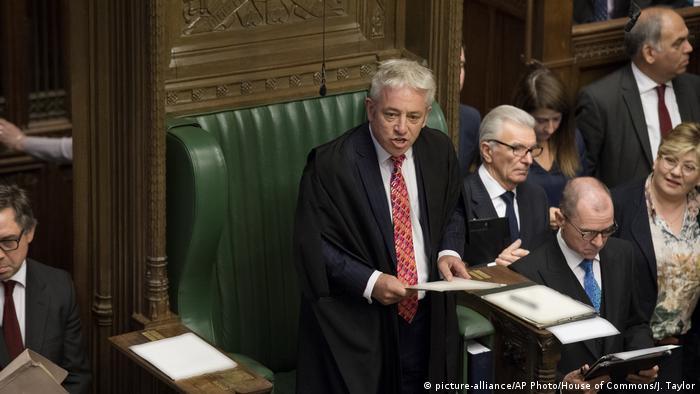 Großbritannien London | Wiederaufnahme der Parlamentssitzung