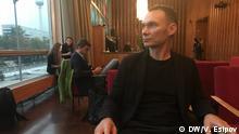 Regisseur Askold Kurov vor der Preisverleihung des Human Rights Film Festival in Berlin. DW, Vladimir Esipov, 25. September 2019