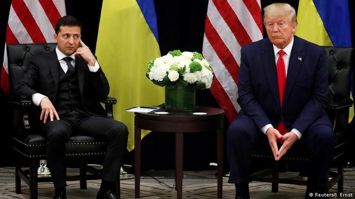 Володимир Зеленський та Дональд Трамп під час зустрічі