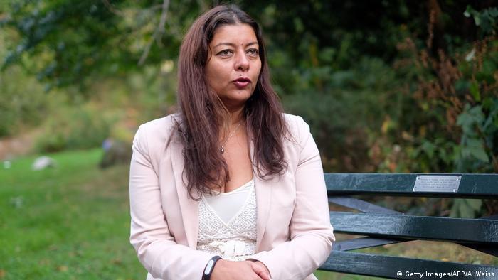 Sandra Muller, Initiatorin der #metoo-Debatte in Frankreich