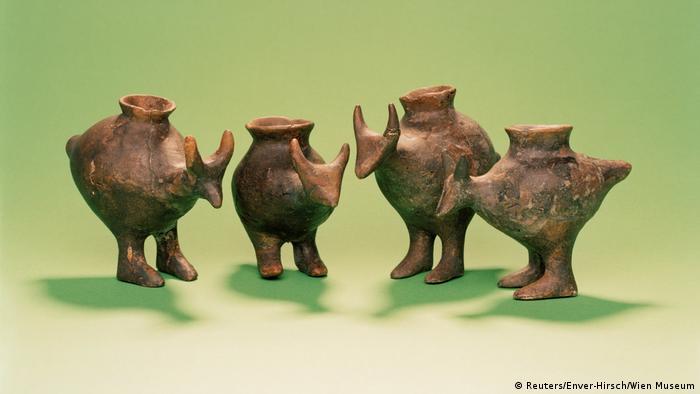 Bronze age baby bottles