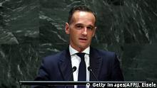 USA UN-Generalversammlung Heiko Maas