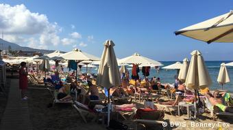 Το καλοκαίρι του 2019 επικρατούσε συνωστισμός στις παραλίες της Κρήτης