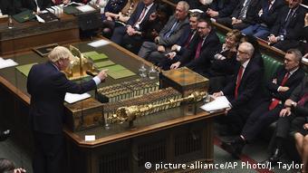 London House of Commons Debatte Britain Brexit
